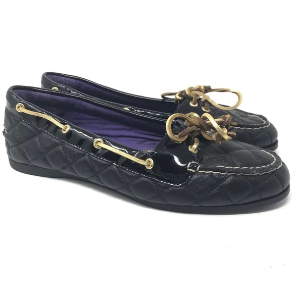 fd26d33538 Sperry Top-Sider SZ 7.5 Quilted Leather Boat Shoe.  M 5af4e7062c705d9d0f93c491